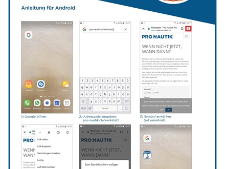Anleitung Android